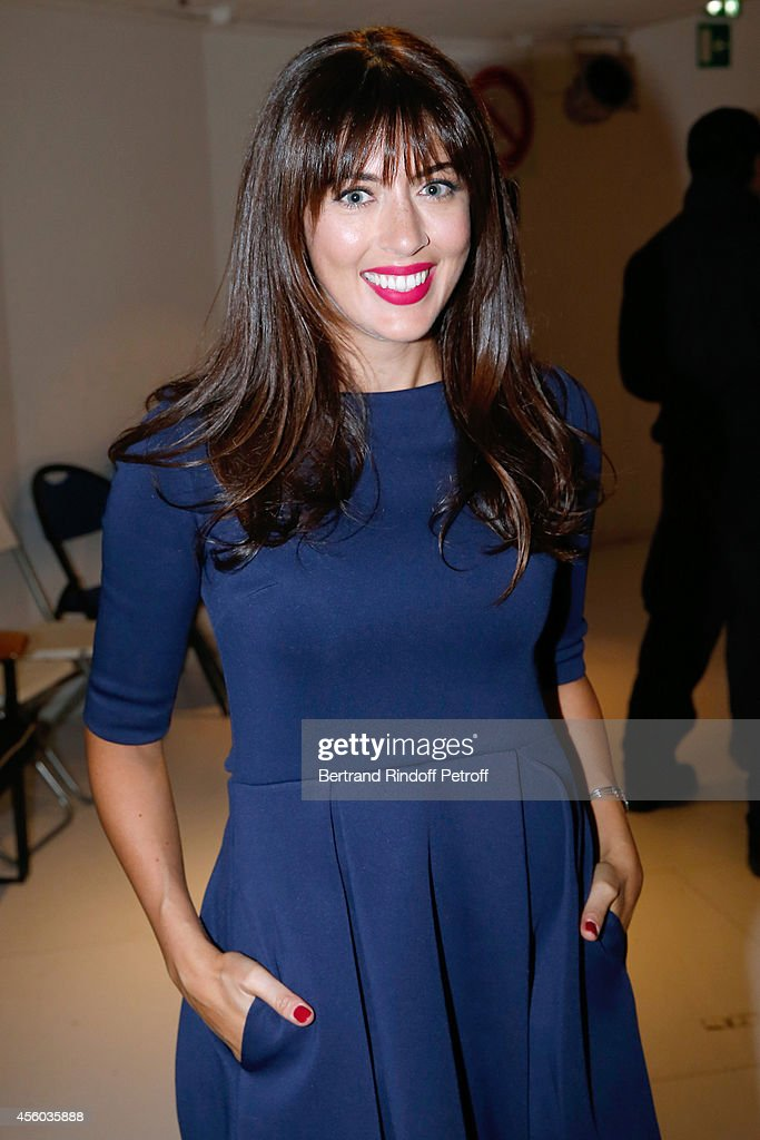 Singer <a gi-track='captionPersonalityLinkClicked' href=/galleries/search?phrase=Nolwenn+Leroy&family=editorial&specificpeople=4343653 ng-click='$event.stopPropagation()'>Nolwenn Leroy</a> attends the 'Vivement Dimanche' French TV Show at Pavillon Gabriel on September 24, 2014 in Paris, France.