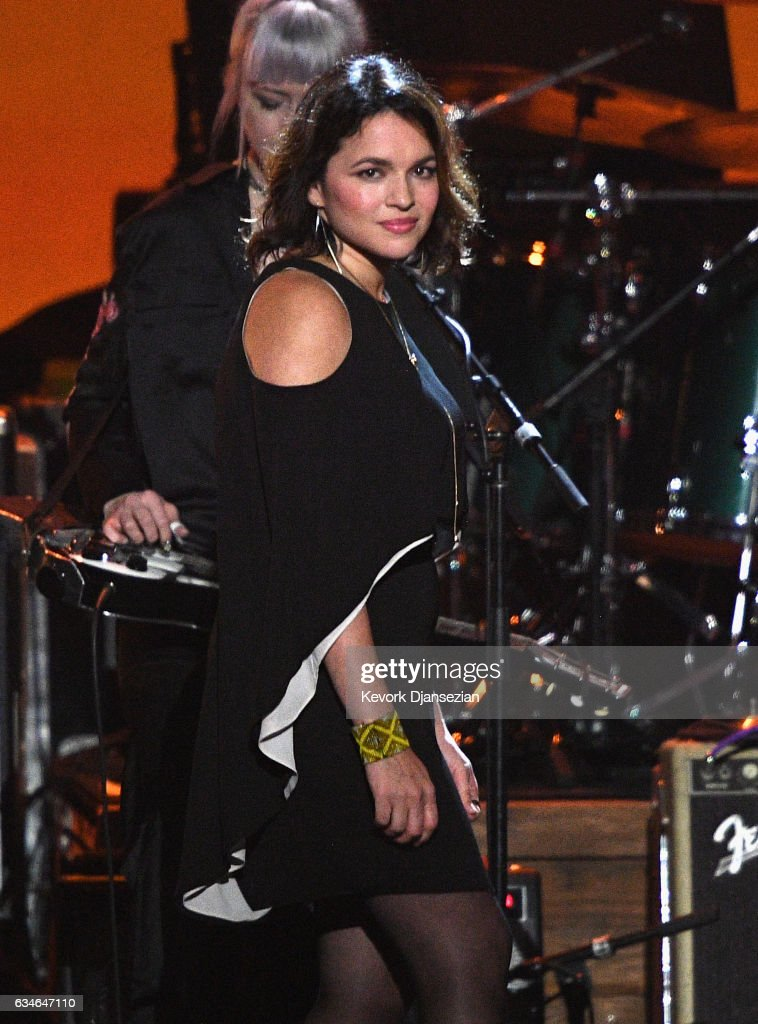 Singer Norah Jones performs onstage during MusiCares Person of the Year honoring Tom Petty at the Los Angeles Convention Center on February 10, 2017 in Los Angeles, California.