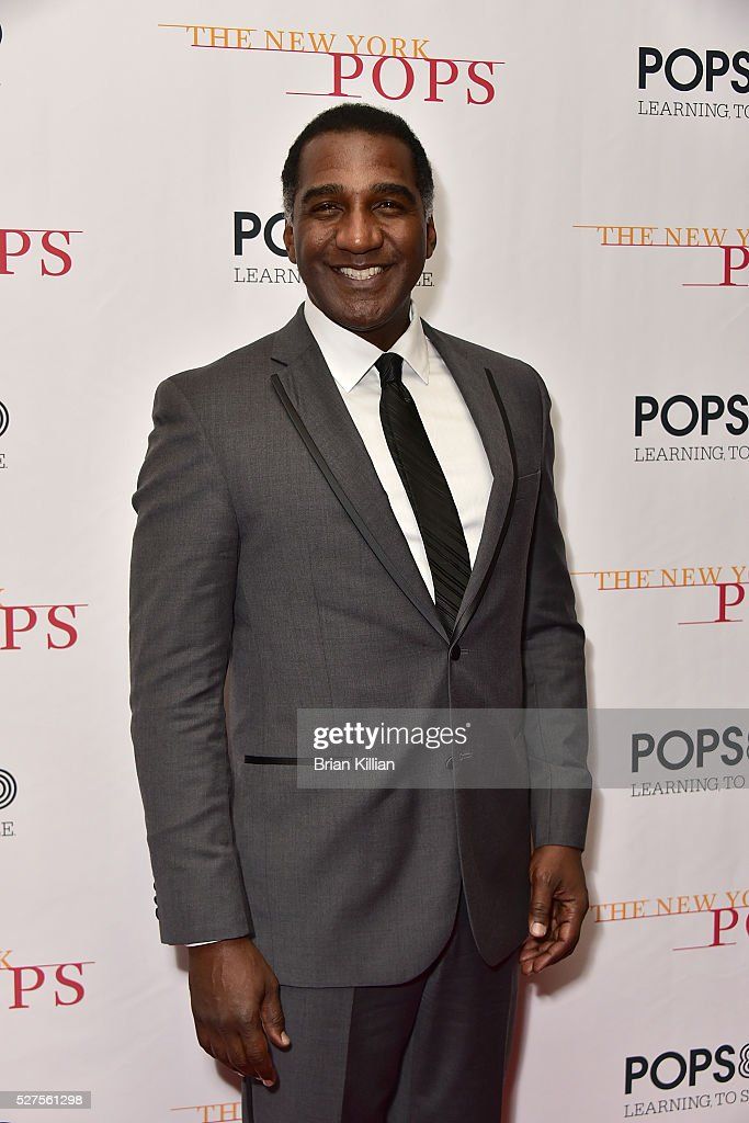 Singer Norm Lewis attends the New York Pops 33rd Birthday Gala - Dinner Dance at Mandarin Oriental New York on May 2, 2016 in New York City