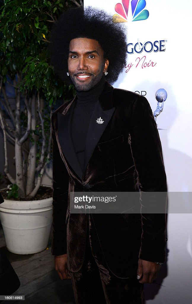 Singer Norwood Young arrives at the 44th NAACP Image Awards after party held at the Millennium Biltmore Hotel on February 1, 2013 in Los Angeles, California.