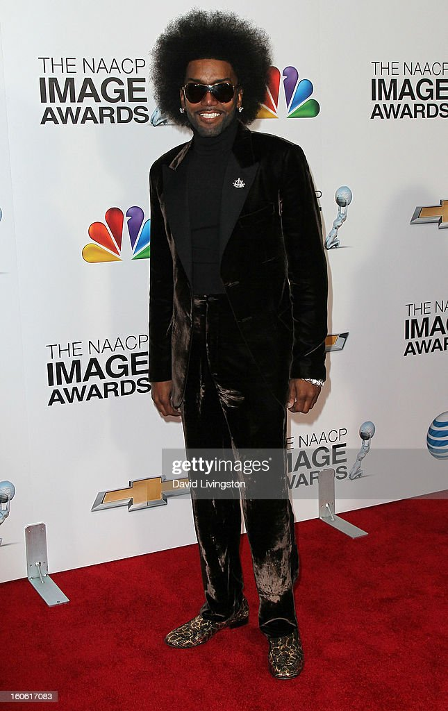 Singer Norwood Young attends the 44th NAACP Image Awards at the Shrine Auditorium on February 1, 2013 in Los Angeles, California.