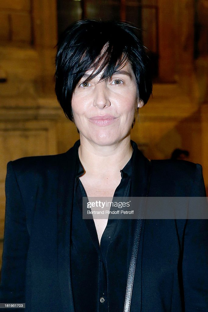 Singer of Group Texas, <a gi-track='captionPersonalityLinkClicked' href=/galleries/search?phrase=Sharleen+Spiteri&family=editorial&specificpeople=214718 ng-click='$event.stopPropagation()'>Sharleen Spiteri</a> arriving at Lanvin show as part of the Paris Fashion Week Womenswear Spring/Summer 2014, held at 'Ecole des beaux Arts' on September 26, 2013 in Paris, France.