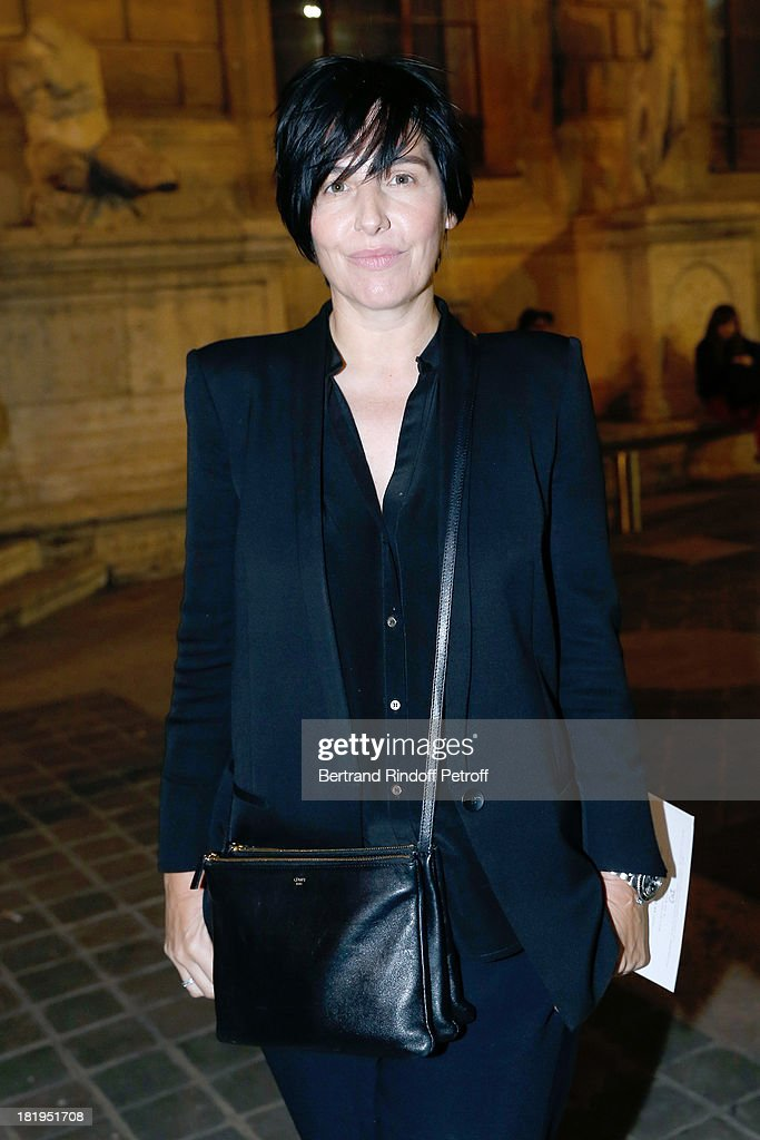 Singer of Group Texas, Sharleen Spiteri arriving at Lanvin show as part of the Paris Fashion Week Womenswear Spring/Summer 2014, held at 'Ecole des beaux Arts' on September 26, 2013 in Paris, France.