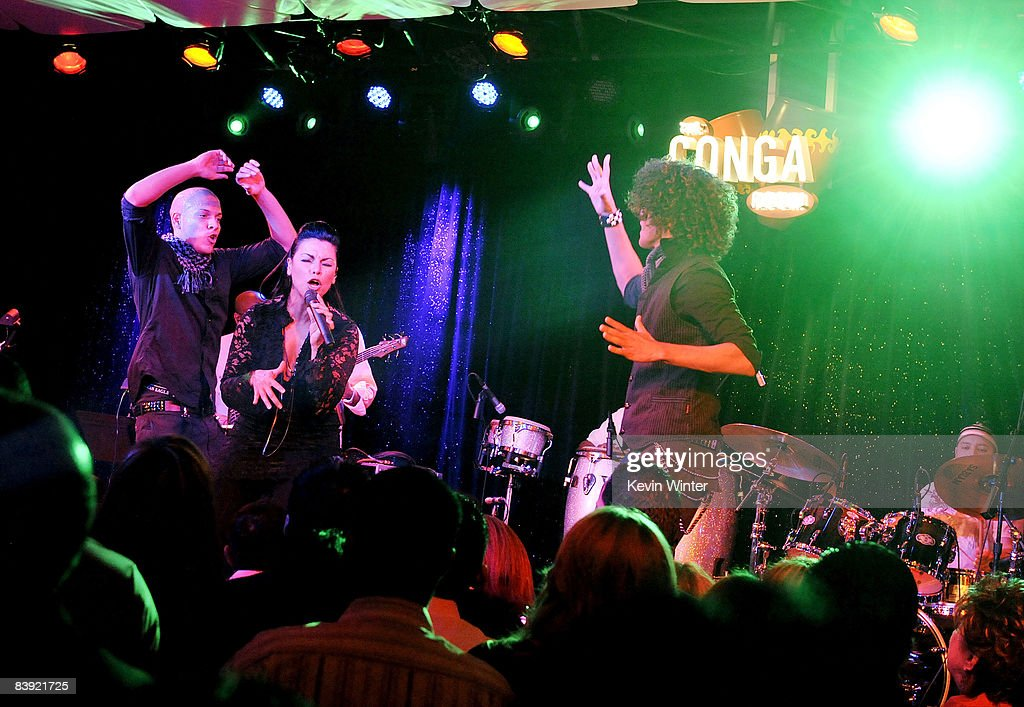 Singer Olga Tanon Performs At The Opening Of The New Conga Room At L.A. Live  On Part 88
