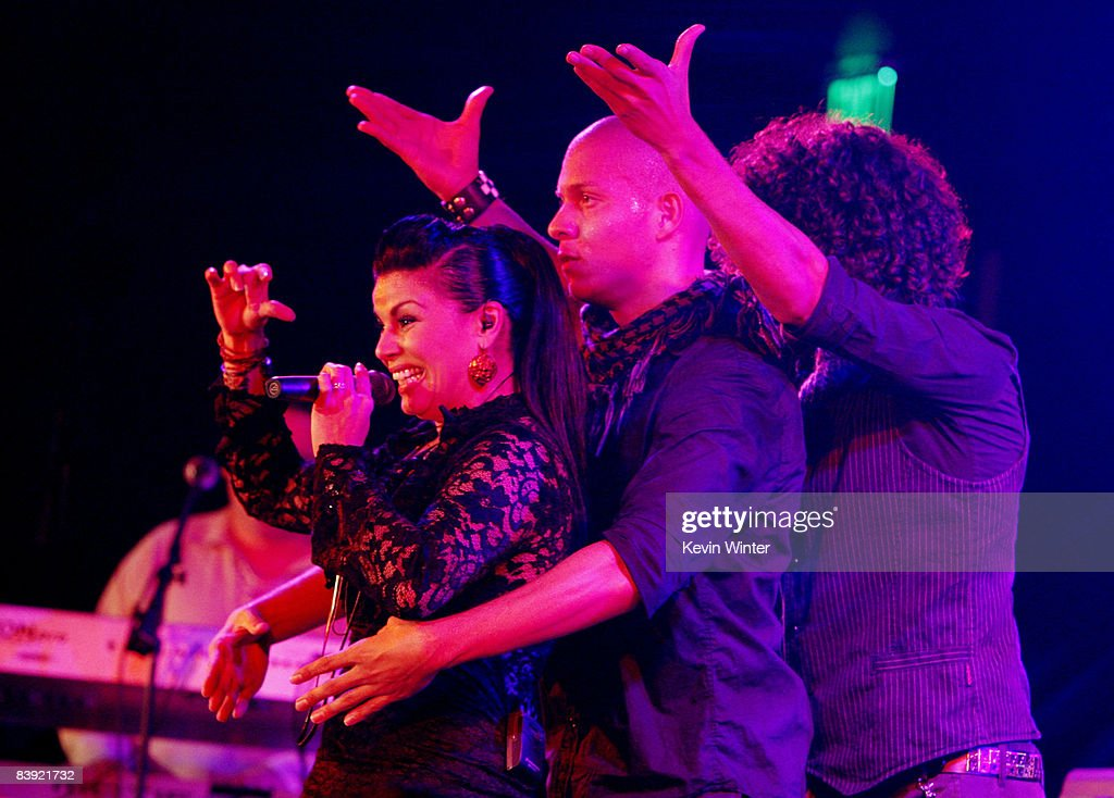 Singer Olga Tanon Performs At The Opening Of The New Conga Room At L.A. Live  On Part 81
