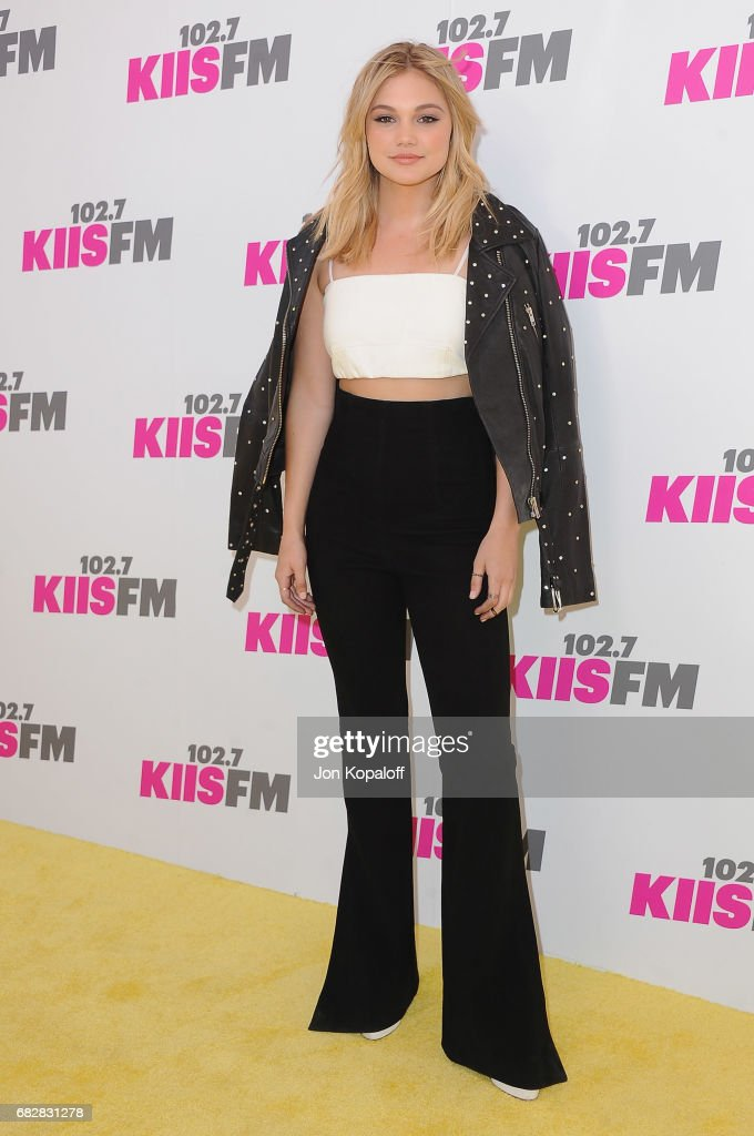Singer Olivia Holt arrives at 102.7 KIIS FM's 2017 Wango Tango at StubHub Center on May 13, 2017 in Carson, California.