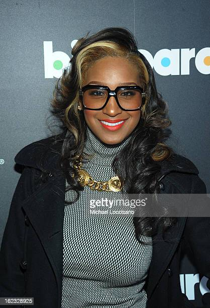 Singer Olivia Longott attends The New Billboard Launch Event at Stage 48 on February 21 2013 in New York City