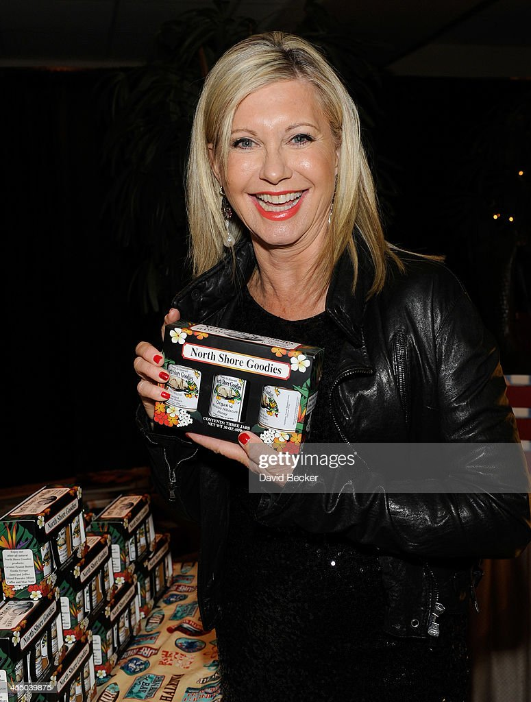 Singer Olivia Newton-John attends the Backstage Creations Celebrity Retreat at the American Country Awards 2013 at the Mandalay Bay Events Center on December 10, 2013 in Las Vegas, Nevada.