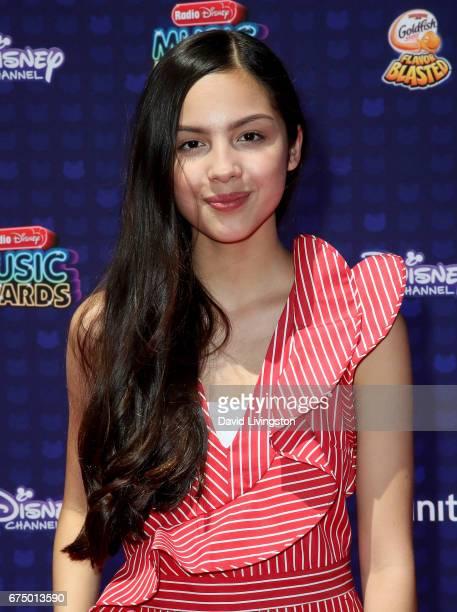 Singer Olivia Rodrigo attends the 2017 Radio Disney Music Awards at Microsoft Theater on April 29 2017 in Los Angeles California