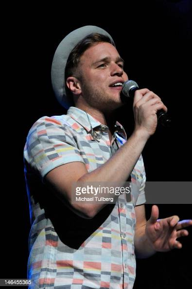 Singer Olly Murs performs live at Gibson Amphitheatre on June 16 2012 in Universal City California