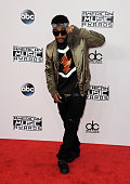 Singer Omarion arrives for the 42nd Annual American Music Awards held at Nokia Theatre LA Live on November 23 2014 in Los Angeles California