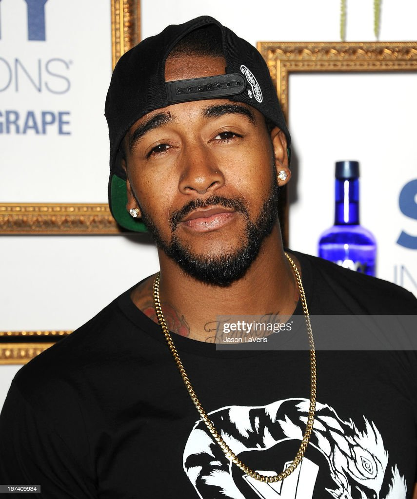 Singer <a gi-track='captionPersonalityLinkClicked' href=/galleries/search?phrase=Omarion&family=editorial&specificpeople=203120 ng-click='$event.stopPropagation()'>Omarion</a> attends the House Of Moscato launch party at Greystone Manor Supperclub on April 24, 2013 in West Hollywood, California.