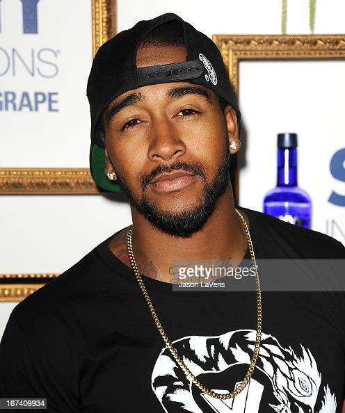 Singer Omarion attends the House Of Moscato launch party at Greystone Manor Supperclub on April 24 2013 in West Hollywood California
