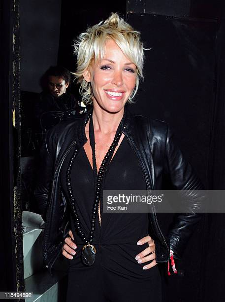 Singer Ophelie Winter attends the Mansour Bahrami's Roland Garros Party at the VIP Room Theater on May 29 2009 in Paris France