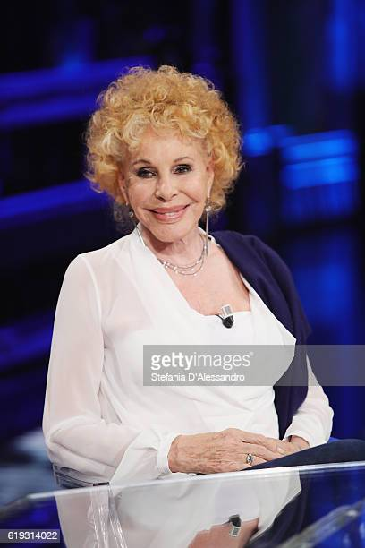 Singer Ornella Vanoni attends 'Che Tempo Che Fa' tv show on October 30 2016 in Milan Italy
