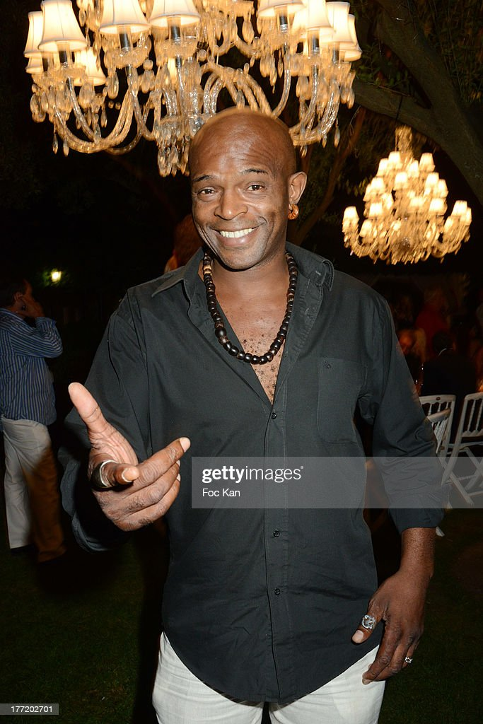 Singer Owi Mazel attends the Massimo Gargia's Birthday Dinner at Moulins de Ramatuelle on August 21, 2013 in Saint Tropez, France.