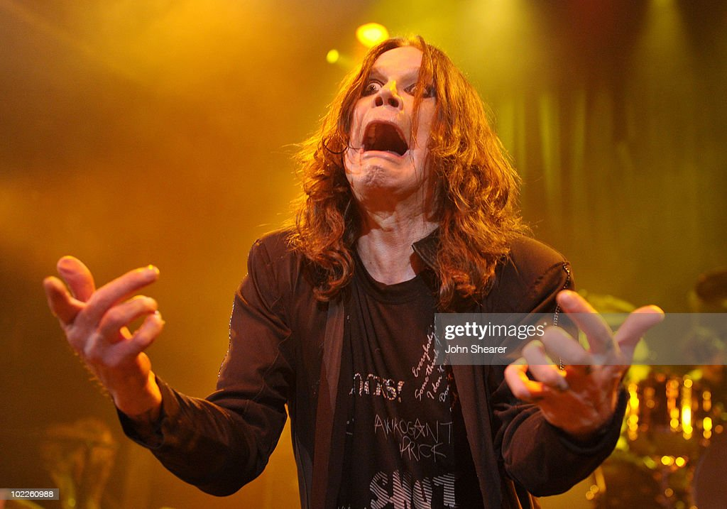 Singer Ozzy Osbourne performs in support of 'SCREAM' at House of Blues Sunset Strip on June 20, 2010 in West Hollywood, California.