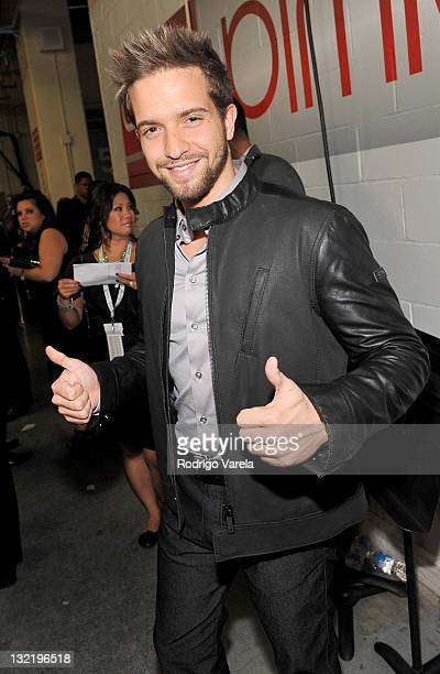 Singer Pablo Alboran attends the 12th Annual Latin GRAMMY Awards held at the Mandalay Bay Events Center on November 10 2011 in Las Vegas Nevada