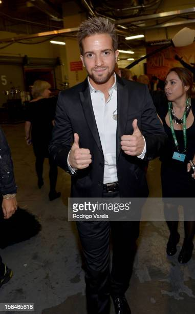 Singer Pablo Alboran attends the 13th annual Latin GRAMMY Awards held at the Mandalay Bay Events Center on November 15 2012 in Las Vegas Nevada
