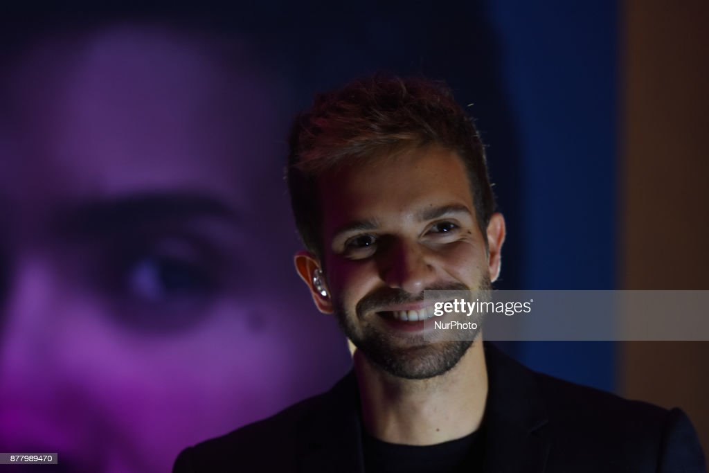 Pablo Alboran Prometo Tour press conference