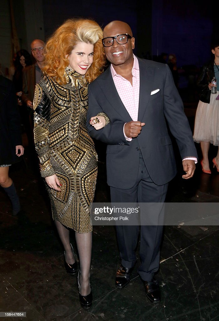Singer Paloma Faith and record executive Antonio L.A. Reid attend 'VH1 Divas' 2012 at The Shrine Auditorium on December 16, 2012 in Los Angeles, California.