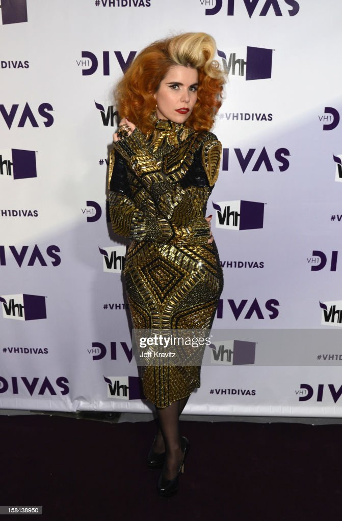 Singer <a gi-track='captionPersonalityLinkClicked' href=/galleries/search?phrase=Paloma+Faith&family=editorial&specificpeople=4214118 ng-click='$event.stopPropagation()'>Paloma Faith</a> arrives at 'VH1 Divas' 2012 at The Shrine Auditorium on December 16, 2012 in Los Angeles, California.