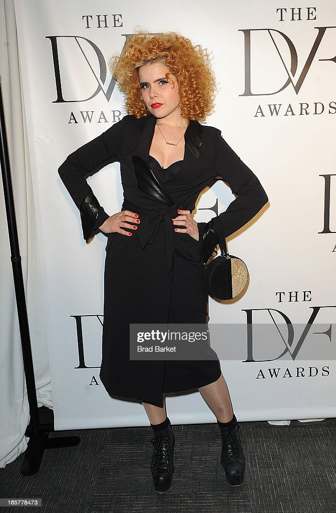 Singer Paloma Faith attends 2013 DVF Awards at United Nations on April 5, 2013 in New York City.