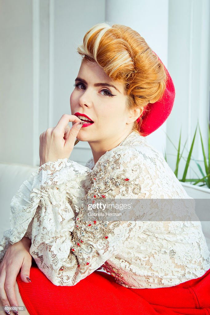 Singer Paloma Faith is photographed for Billboard Magazine on November 28, 2012 in New York City.