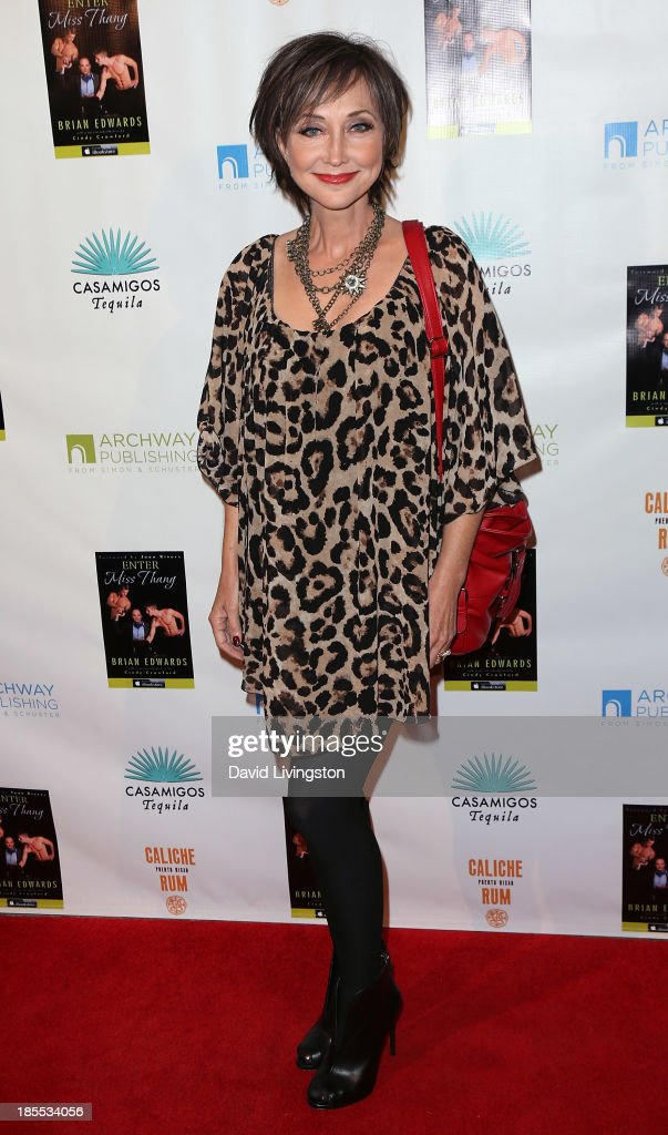 Singer Pam Tillis attends the launch party for Brian Edwards' book 'Enter Miss Thang' at Cafe Habana on October 21, 2013 in Malibu, California.