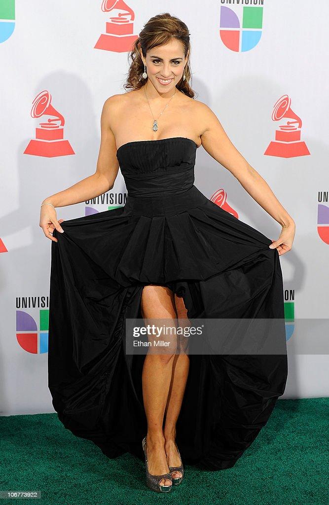 Singer Pancara arrives at the 11th annual Latin GRAMMY Awards at the Mandalay Bay Resort & Casino on November 11, 2010 in Las Vegas, Nevada.