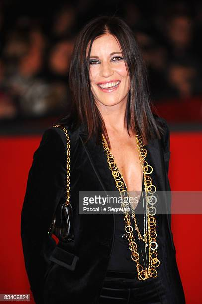 Singer Paola Turci attends the L'Uomo Che Ama Premiere during the 3rd Rome International Film Festival held at the Auditorium Parco della Musica on...