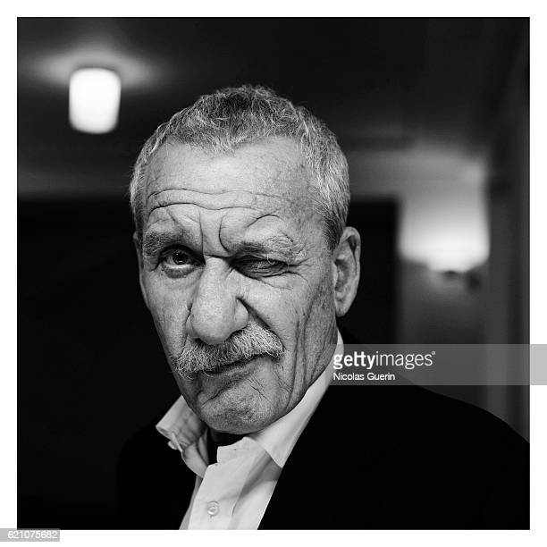 Singer Paolo Conte is photographed for Self Assignment on September 1 2008 in Paris France