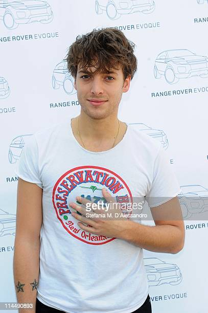 Singer Paolo Nutini attends Milan Range Rover Presents Evoque Live to celebrate the global tour of the Range Rover Evoque at Super Studio on May 21...