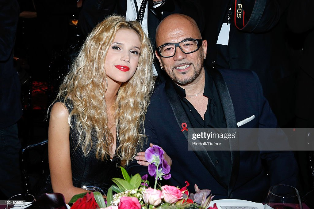 Singer <a gi-track='captionPersonalityLinkClicked' href=/galleries/search?phrase=Pascal+Obispo&family=editorial&specificpeople=549855 ng-click='$event.stopPropagation()'>Pascal Obispo</a> and his companion Julie Hantson attend the Sidaction Gala Dinner 2015 at Pavillon d'Armenonville on January 29, 2015 in Paris, France.