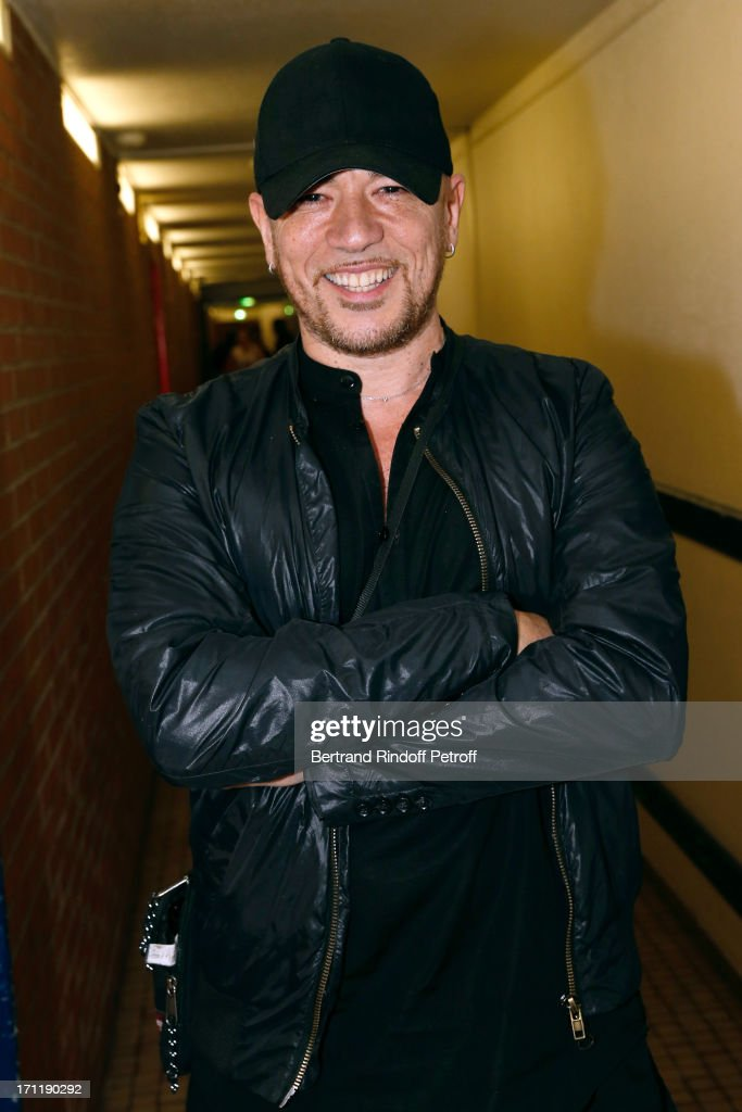 Singer <a gi-track='captionPersonalityLinkClicked' href=/galleries/search?phrase=Pascal+Obispo&family=editorial&specificpeople=549855 ng-click='$event.stopPropagation()'>Pascal Obispo</a> attends the last concert in Paris of Patrick Bruel, held at Palais Omnisports de Bercy on June 22, 2013 in Paris, France.