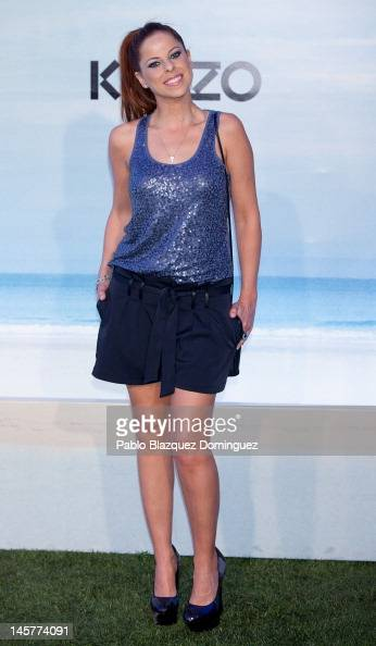 Singer Pastora Soler attends Kenzo Summer Party at Green Canal Golf on June 5 2012 in Madrid Spain