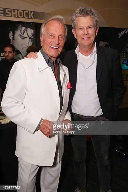 Singer Pat Boone and composer David Foster attend An Evening With Pat Boone at The GRAMMY Museum on June 2 2015 in Los Angeles California