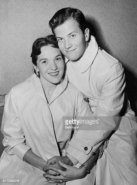 Singer Pat Boone and His Wife Shirley