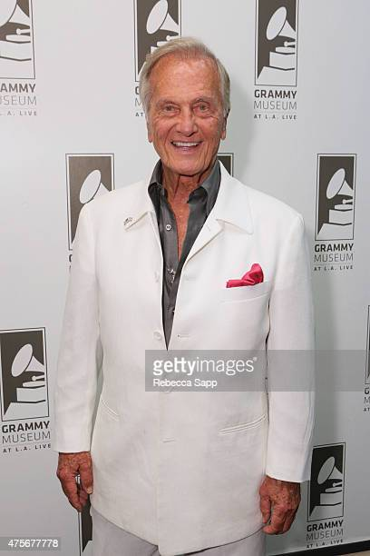 Singer Pat Boone attends An Evening With Pat Boone at The GRAMMY Museum on June 2 2015 in Los Angeles California