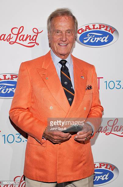 Singer Pat Boone attends Kost 1035 ChristmasLand celebrates Hillsong Artists performing at Nokia Theatre at Nokia Theatre LA Live on December 10 2014...