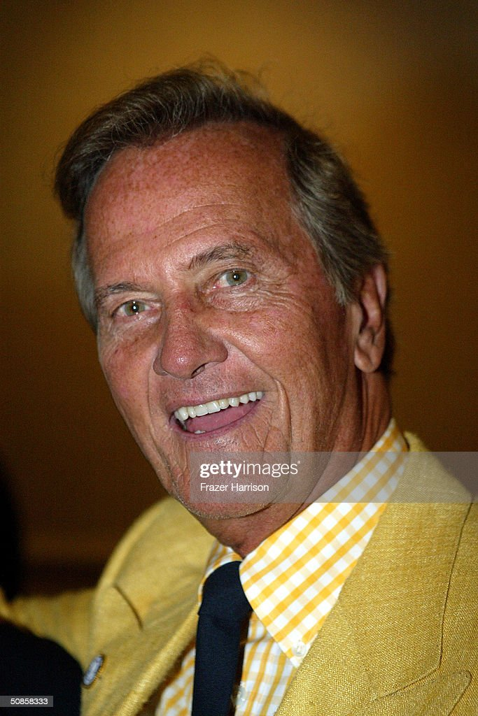 Singer Pat Boone attends the VIP luncheon to celebrate the 50th Anniversary of Solters & Digney Public Relations, and its founder Lee Solters, held on May 19, 2004 at the Beverly Hilton Hotel in Beverly Hills, California.
