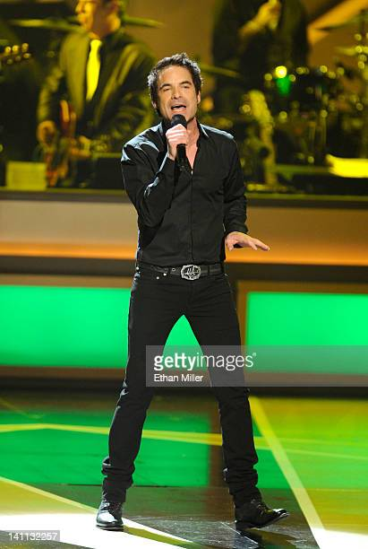 Singer Pat Monahan performs during the opening night of The Smith Center for the Performing Arts on March 10 2012 in Las Vegas Nevada