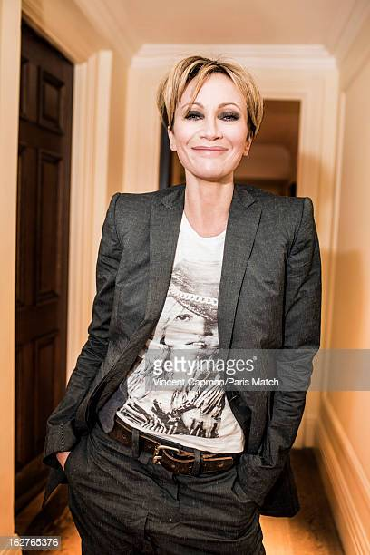 Singer Patricia Kaas is photographed for Paris Match on November 7 2012 in London England