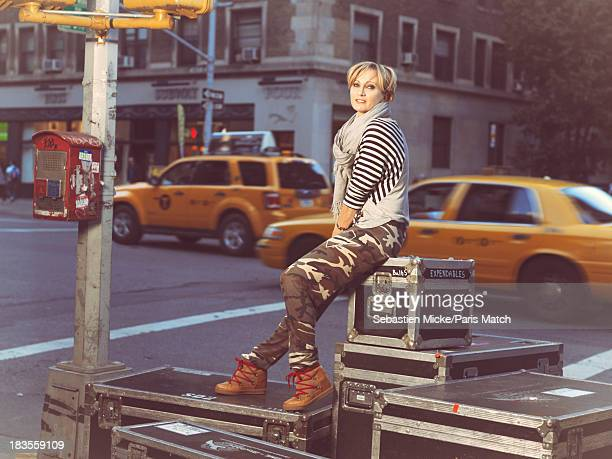 Singer Patricia Kaas is photographed for Paris Match on September 19 2013 in New York City