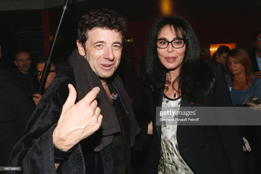 Singer <a gi-track='captionPersonalityLinkClicked' href=/galleries/search?phrase=Patrick+Bruel&family=editorial&specificpeople=549816 ng-click='$event.stopPropagation()'>Patrick Bruel</a> and French Minister <a gi-track='captionPersonalityLinkClicked' href=/galleries/search?phrase=Yamina+Benguigui&family=editorial&specificpeople=615509 ng-click='$event.stopPropagation()'>Yamina Benguigui</a> backstage after <a gi-track='captionPersonalityLinkClicked' href=/galleries/search?phrase=Patrick+Bruel&family=editorial&specificpeople=549816 ng-click='$event.stopPropagation()'>Patrick Bruel</a>'s concert at Zenith de Paris on May 30, 2013 in Paris, France.