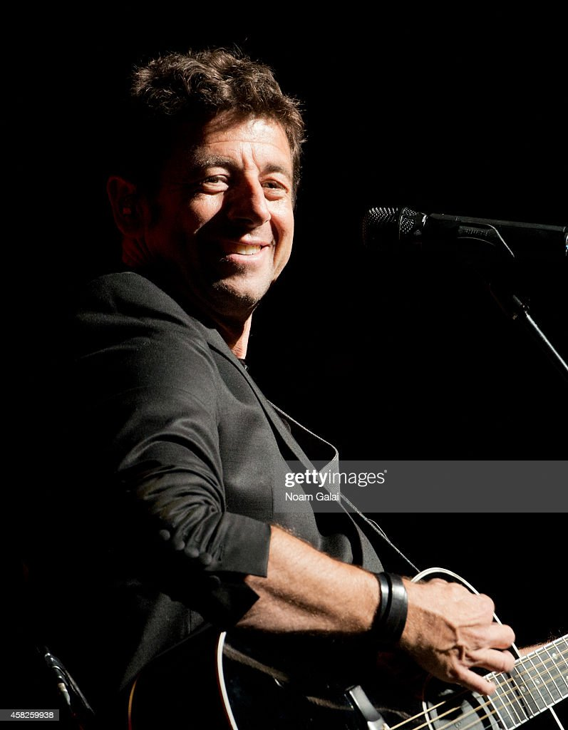 Singer <a gi-track='captionPersonalityLinkClicked' href=/galleries/search?phrase=Patrick+Bruel&family=editorial&specificpeople=549816 ng-click='$event.stopPropagation()'>Patrick Bruel</a> performs in concert at Beacon Theatre on November 1, 2014 in New York City.