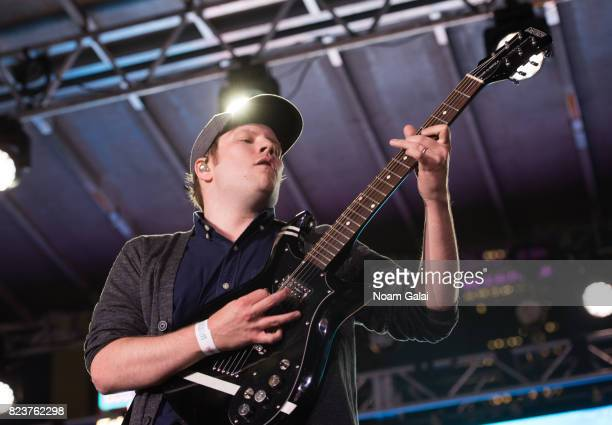 Singer Patrick Stump of Fall Out Boy performs at Elvis Duran's 2017 Summer Bash at the Pennsy Plaza on July 27 2017 in New York City