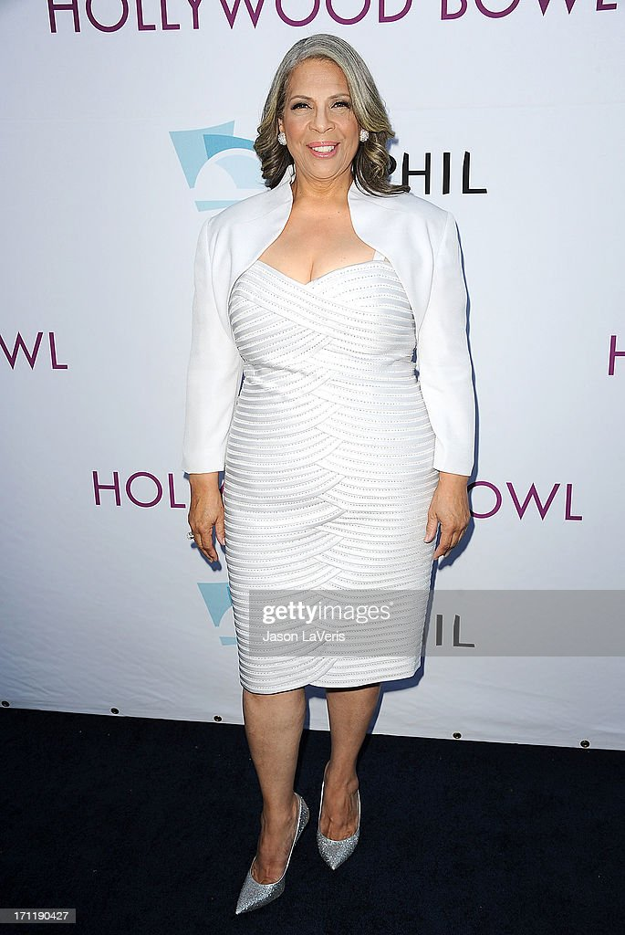 Singer <a gi-track='captionPersonalityLinkClicked' href=/galleries/search?phrase=Patti+Austin&family=editorial&specificpeople=782729 ng-click='$event.stopPropagation()'>Patti Austin</a> attends the Hollywood Bowl opening night celebration at The Hollywood Bowl on June 22, 2013 in Los Angeles, California.