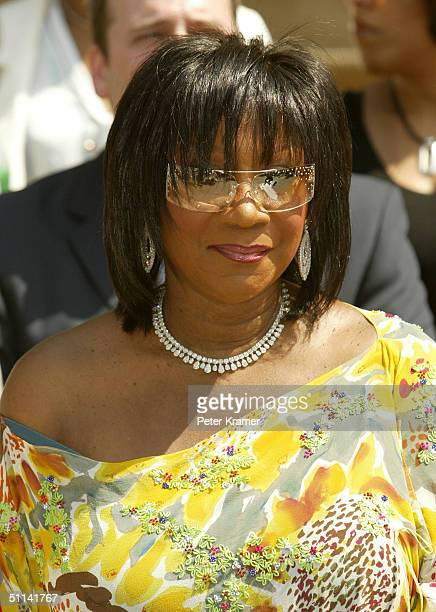 Singer Patti LaBelle attends a press conference to talk about the Luther Vandross Tribute CD and diabetes awareness August 4 2004 in New York City