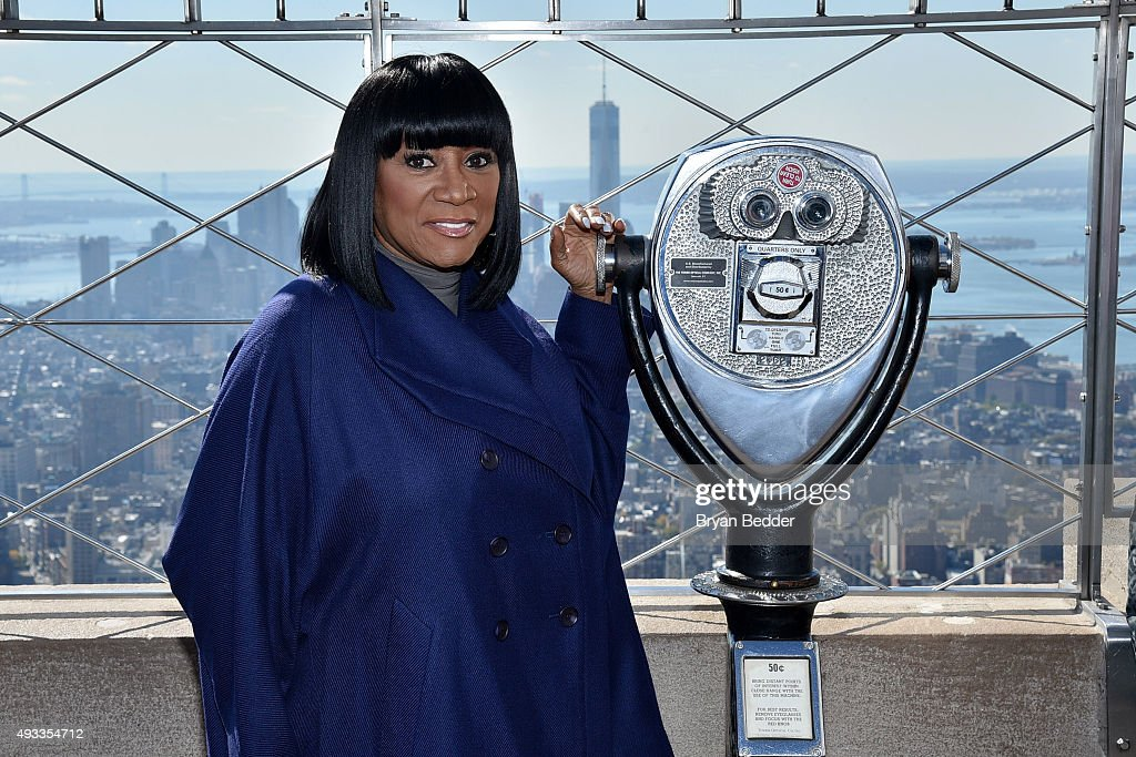Patti LaBelle And Denise Rich Light Empire State Building For Gabrielle's Angel Foundation For Cancer Research In Honor Of Angel Ball 2015